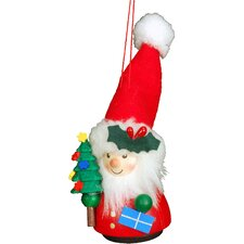 Santa and Tree Ornament