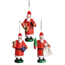 Santas Ornament (Set of 3)