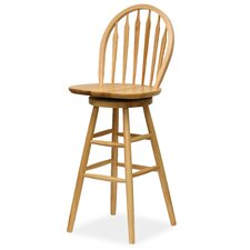 "Basics Natural 30"" Swivel Bar Stool"
