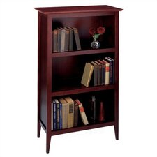 "Expresso 48"" H Three Tier Bookcase"