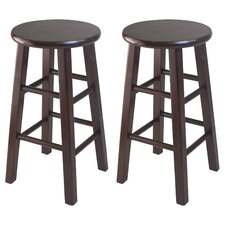 Square Leg Counter Stool Set (Set of 2)