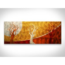 Golden Seasons Wall Art