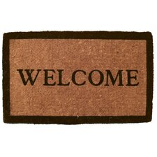 Extra Thickness Coir Simply Welcome Doormat