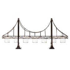 Brooklyn Bridge Iron/Glass Tealight