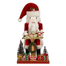 "16"" Santa's Workshop Nutcracker"