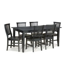 Arts and Crafts 7 Piece Dining Set