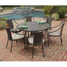 Stone Harbor 7 Piece Dining Set with Cushions
