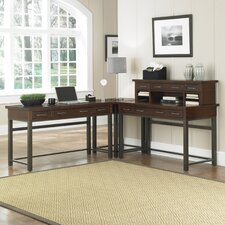 Cabin Creek L-Shape Desk Office Suite