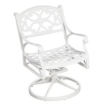 Biscayne Swivel Dining Arm Chair