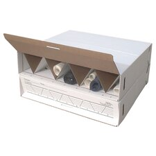 Modular Stackable Roll Storage (Set of 2)