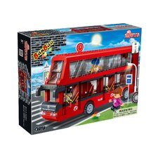 Citylife 412 Piece Double Decker Bus Block Set