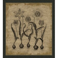 Flora on Linen I Wall Art