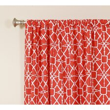 Network Rod Pocket Curtain Single Panel