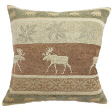 Nerula Moose Polyester Pillow in Cream