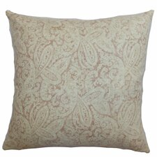 Benigna Paisley Cotton Pillow