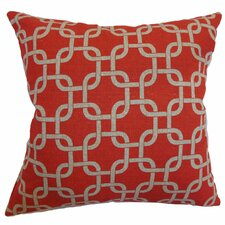 Qishn Geometric Cotton Pillow