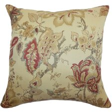 Helena Floral Cotton Pillow