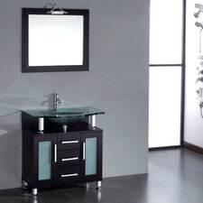 "Topaz 32"" Single Bathroom Vanity Set"