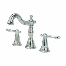 Ballymore Victorian Double Handle Widespread Bathroom Faucet