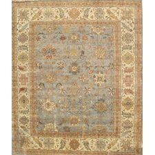 Sultanabad Light Blue/Ivory Rug