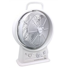 "Rechargeable 12"" Oscillating Fan"