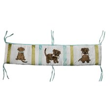 Puppy Pal Boy Crib Bumper