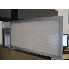 "12"" Cubicle Mounted Privacy Panel with Large Brackets"