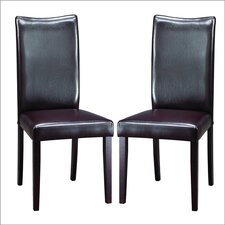 Baxton Studio Sweden Parsons Chair (Set of 2)