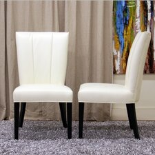 Baxton Studio Janvier Parsons Chair (Set of 2)