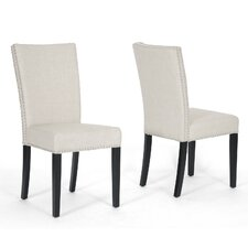 Baxton Studio Harrowgate Parsons Chair (Set of 2)