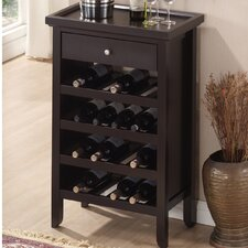 Baxton Studio 16 Bottle Wine Cabinet