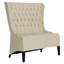Baxton Studio Vincent Loveseat Bench