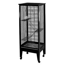 Medium 4 Level Small Animal Cage on Casters