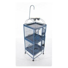 Small Double Stack Bird Cage