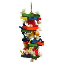 The Medium Cluster Blocks Bird Toy