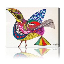 """Bird"" Canvas Art Print"