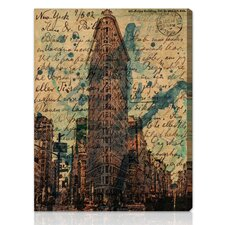 """Flat Iron"" Canvas Art Print"