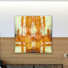 ''Jaune'' Canvas Wall Art