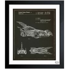 Batmobile 1996 Framed Art