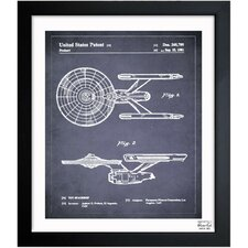 Enterprise 1981 Framed Art