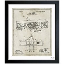 Wright Flying-Machine 1906 Framed Art