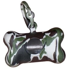 Bon Ton Camo Dog Waste Bag Dispenser