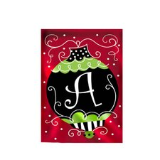 Christmas Bling 2-Sided Garden Flag
