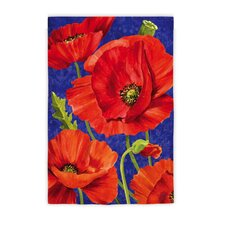 Poppies Garden Flag