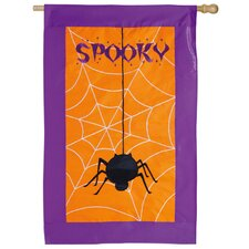 Spooky Applique Garden Flag