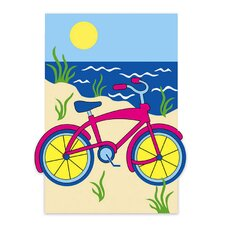 Summer Bicycle Garden Flag