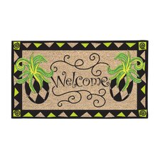 Whimsy Pineapple Doormat