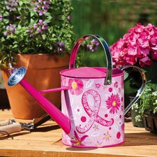 Ribbon Floral Watering Can