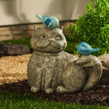 Forest Friends Cat Companions Statue
