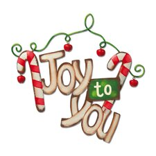 "It's Christmas Time ""Joy to You"" Wall Decor"